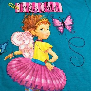 79e37502 Disney Shirts & Tops | Fancy Nancy Blue Tres Chic Tee Nwt | Poshmark